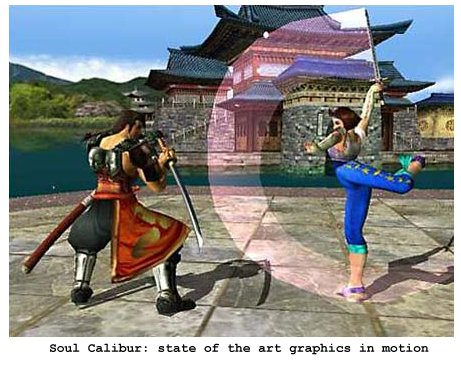 Screenshot from Soul Calibur