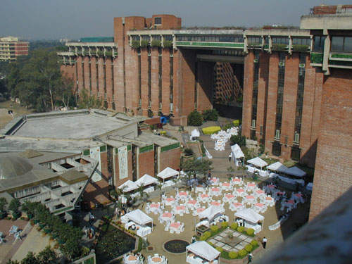 photo (61KB) : The Habitat Centre, New Delhi