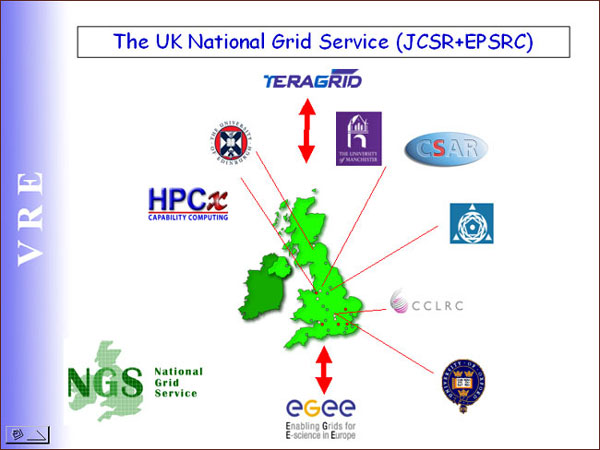 screenshot (49KB): Figure 2: The UK National Grid Service (JCSR+EPSRC)