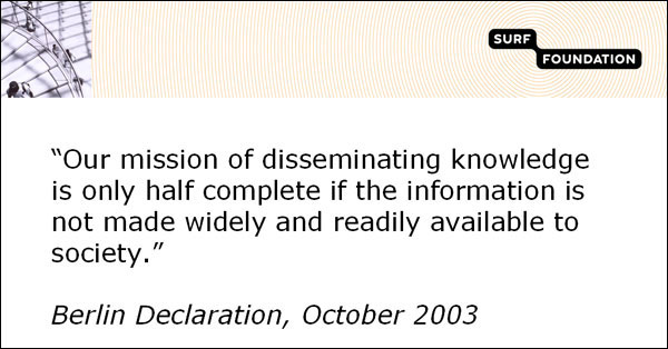 screenshot (42KB) : Figure 1 : Message of the Berlin Declaration