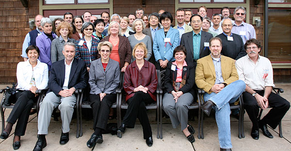 photo (72KB) : Figure 2 : Participants from around the world (picture courtesy of Stu Weibel)