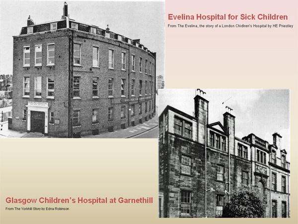 photo (98KB) : Figure 9 : Yorkhill & Evelina hospitals