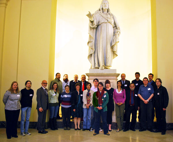 photo (61KB) : Planets Trainers and Delegates gather in Rome