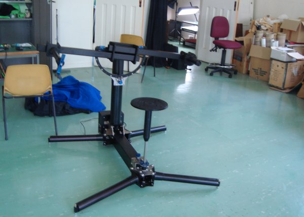 photo (40KB): Figure 3: Virtual 3D (V3D) Object Rig Model 1 (ORm1) assembled