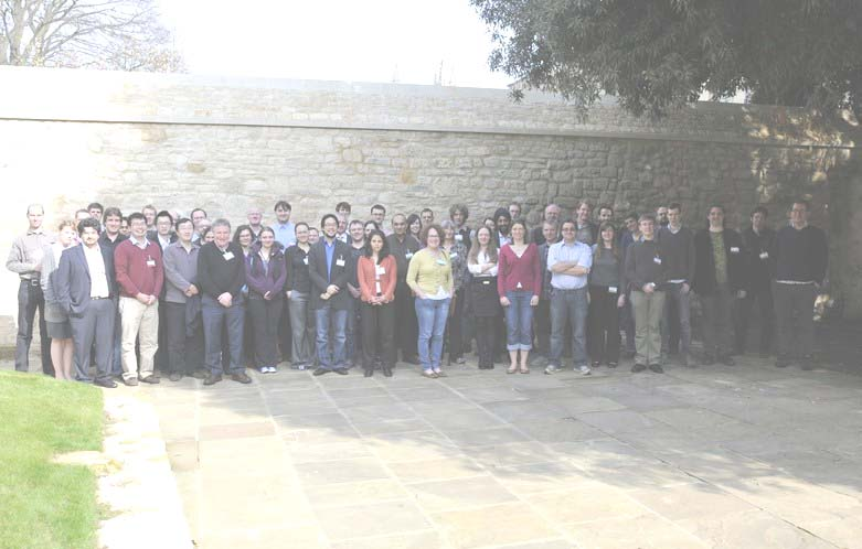 The delegates of the Collaborations Workshop 2012