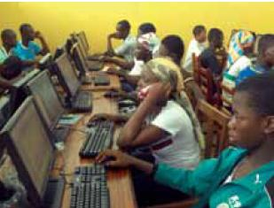 Figure 1: ICT usage in Ghanaian library