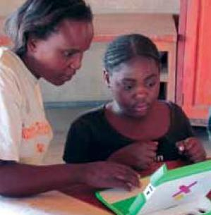 Figure 2: Computer-based reading lessons, Zambia