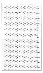 Figure 1: Optical coincidence card, circa 1970