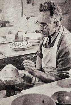 Figure 7: Portrait photograph of Bernard Leach, 1946. © Crafts Study Centre, University for the Creative Arts
